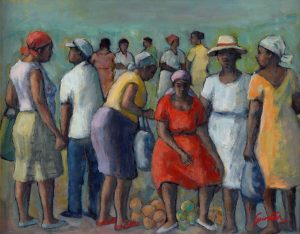 Featured exhibition painting